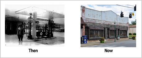 237 Depot St Then and Now