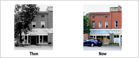 24 Commerce St Then and Now