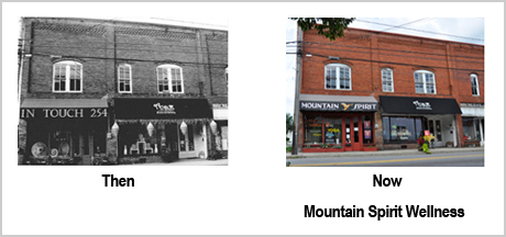 254 Depot St Then and Now