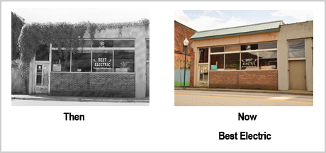 263 Depot St Then and Now