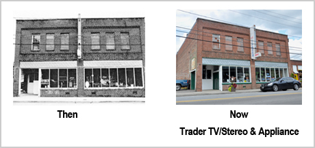 282 Depot St Then and Now